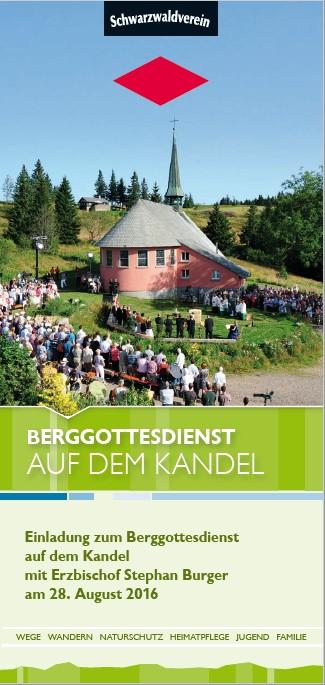 Berggottesdienst Kandel