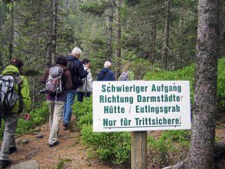 Nationalpark Schwarzwald Wildsee Bannwald Wilder See Eutinggrab Julius Euting